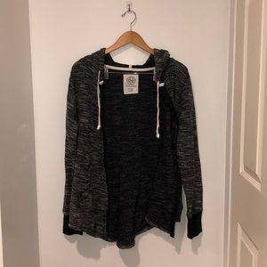 Zip up hoodie